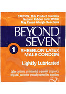 Beyond Seven Condom Lightly Lubricated 12 Pack