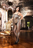 Mesh Bodystocking - Q (disc)