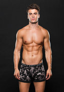Logo Elastic Boxer Brief S/m Gray Camo