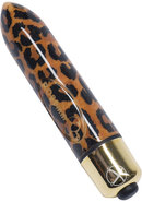 Ro-80mm 7 Speed Vibrating Bullet Waterproof Leopard Print 3...