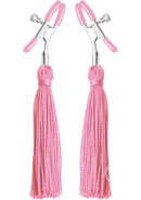 Frisky Nipple Clamps With Tassels  Clamps 6 X .5 X 1 Inches...