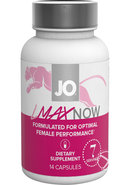 Jo Lmax Now Female Performance Dietary Supplement 14 Pills...