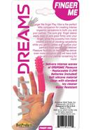 Wet Dreams Finger Me Silicone Finger Vibe Tickler Water...
