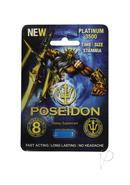 Poseidon Platinum 3500 Blue Male Stamina Supplement 1 Pill...