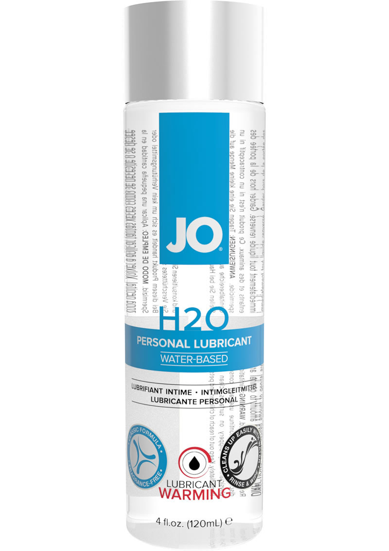 Jo H2o Water Based Warming Lubricant 4oz