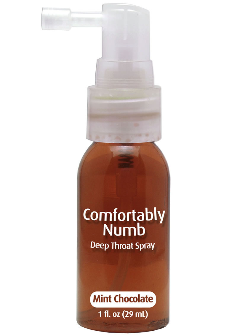 Comfortably Numb Deep Throat Spray Mint Chocolate 1 Ounce