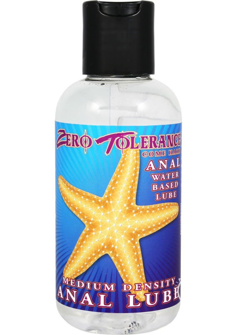 Zero Tolerance Come Hard Anal Water Based Lube 4oz