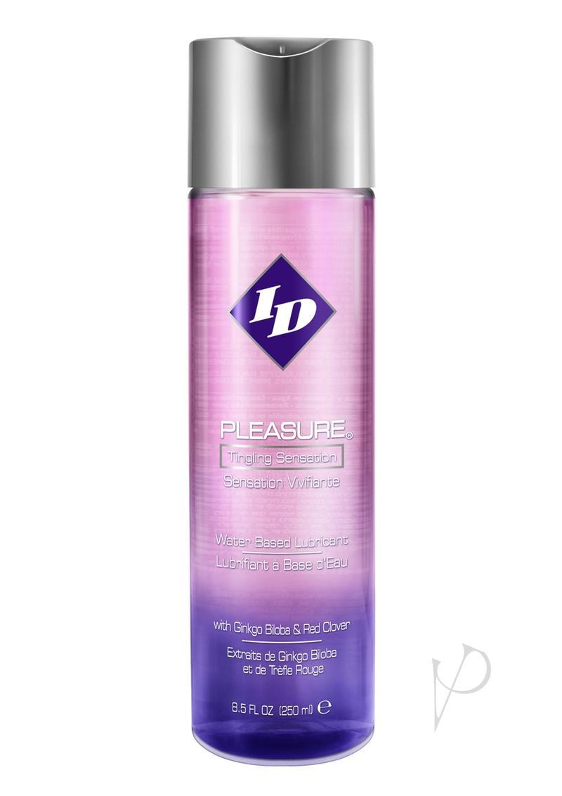 Id Pleasure Tingling Sensation Water Based Lubricant 8.8 Ounces