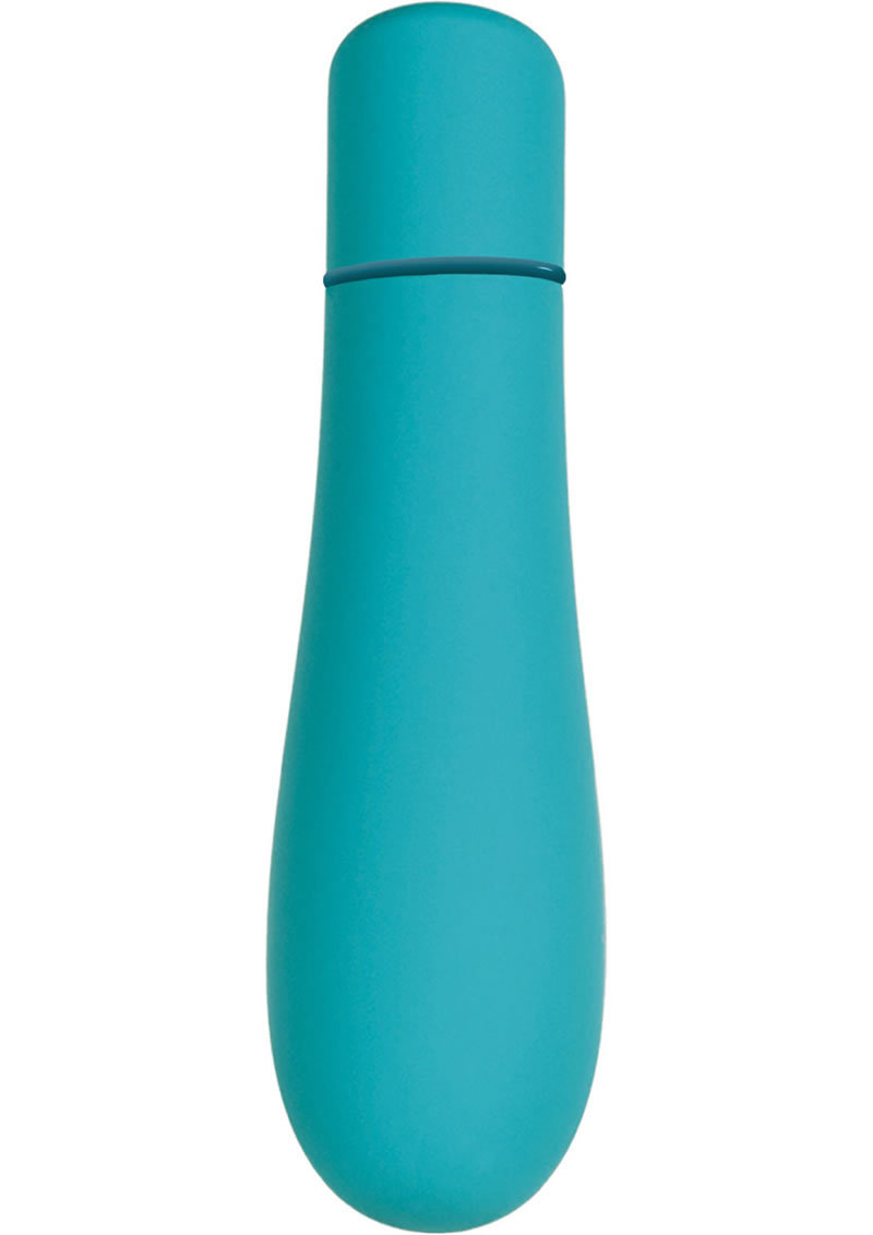Powerbullet Soft Rain 7 Function Bullet - Blue