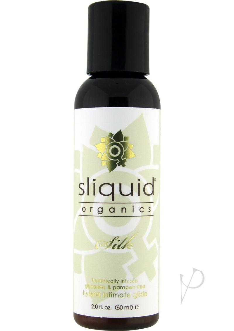 Sliquid Organics Silk Botanically Infused Hybrid Intimate Glide 2oz