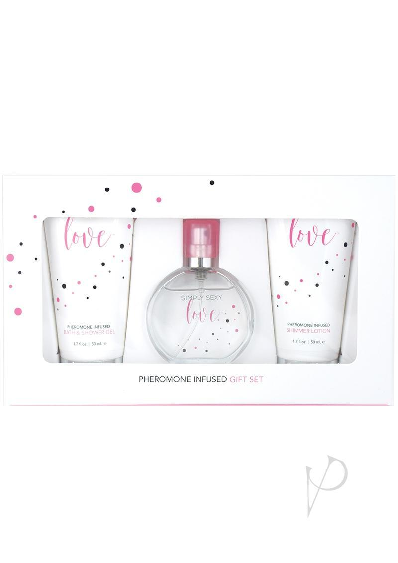 Simply Sexy Love Pheromone Infused Perfume Gift Set 4 Piece