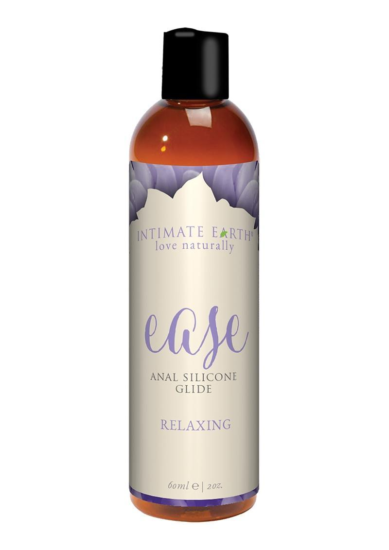 Intimate Earth Ease Relaxing Anal Silicone Glide Lubricant 2oz