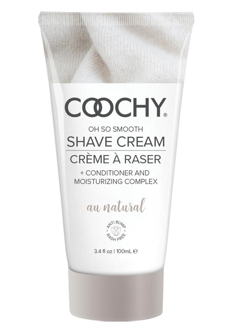Coochy Oh So Smooth Shave Cream Au Natural 3.4 Ounce