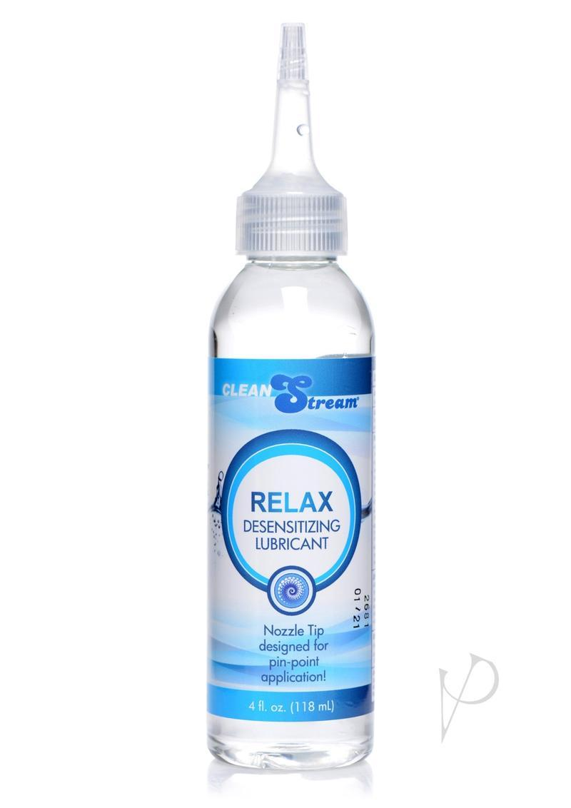 Cleanstream Relax Desensitizing Anal Lube With Dispensing Tip 4oz