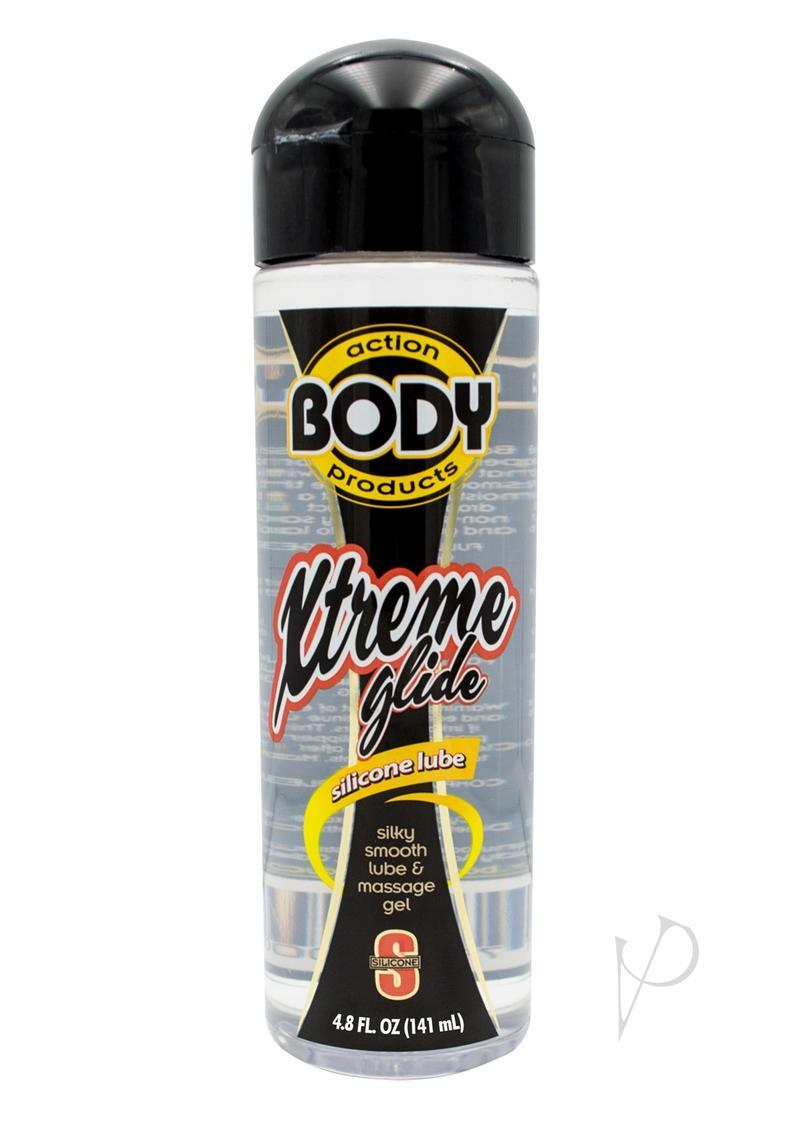 Body Action Extreme Glide Silicone Based Lubricant 4.8 Ounce